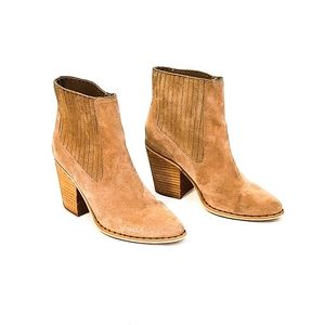 Chinese Laundry SONYA Mink Suede BOOTS
